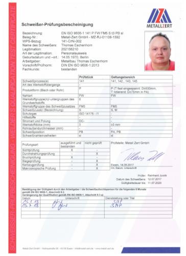 Schweisserzeugnis Thomas Eschenhorn WIG 07-18 001